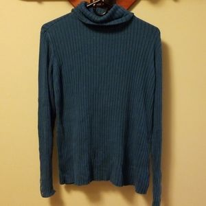 Womens blue sweater
